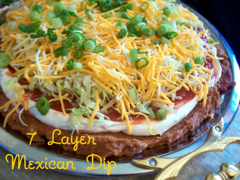 Layer Taco Dip and Party food! | Heart of a Country Home