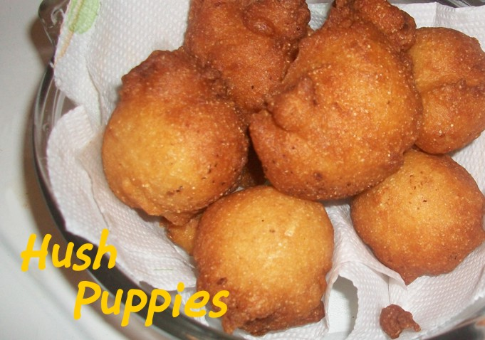 Fried Cornbread and Hush Puppies | Heart of a Country Home
