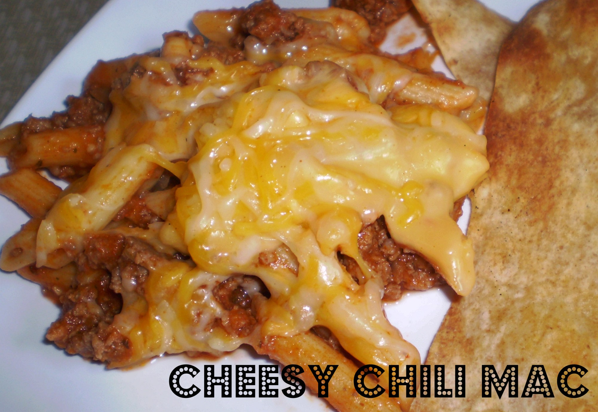 Cheesy Chili Mac Recipe — Dishmaps