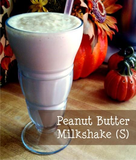 PB Milkshake