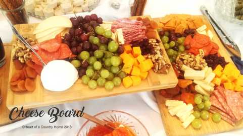 Wedding Cheese Board