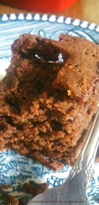 triple chocolate snack cake low carb and sugar free crumb shot