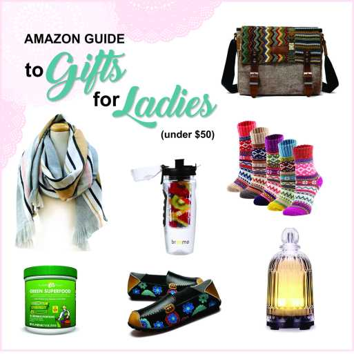 Amazon Gift Guide for Ladies
